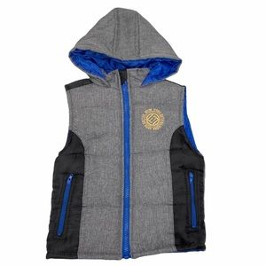 Enteca New York Puffer hooded Vest 3T